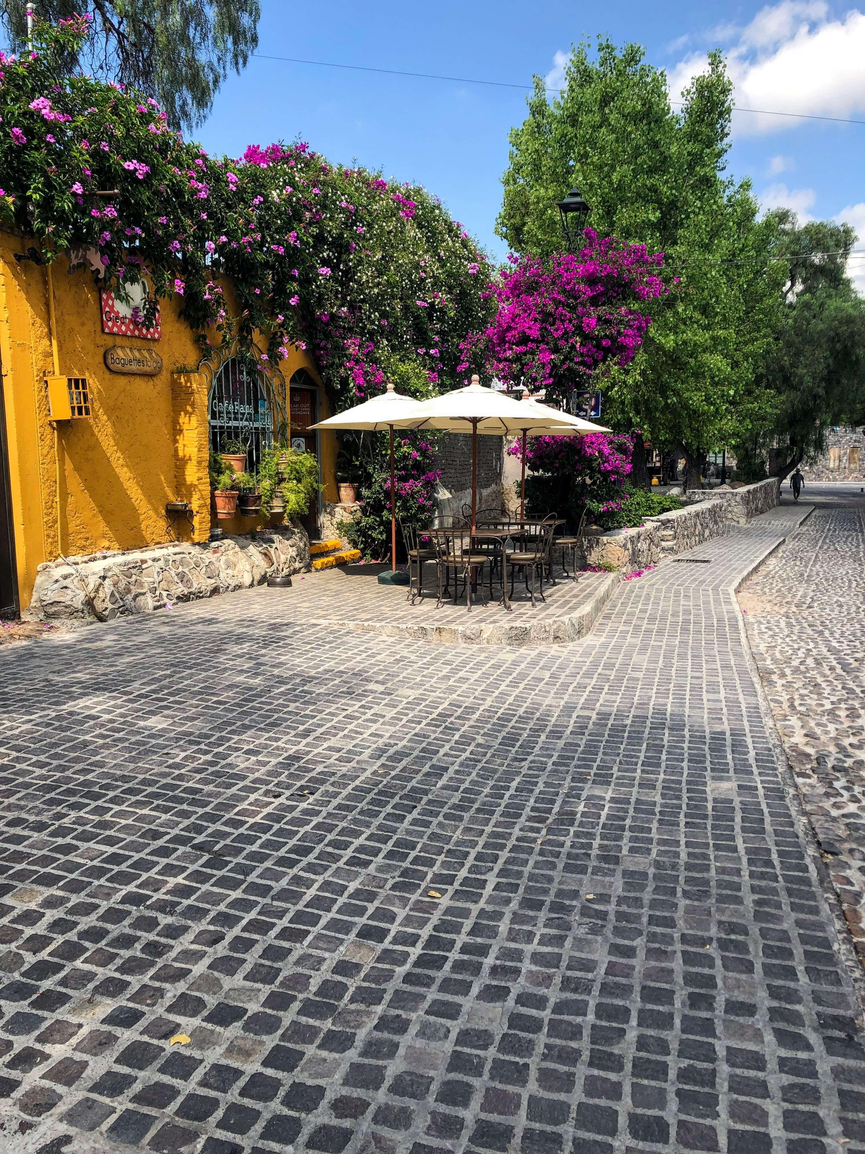 Cafe Rama in San Miguel de Allende