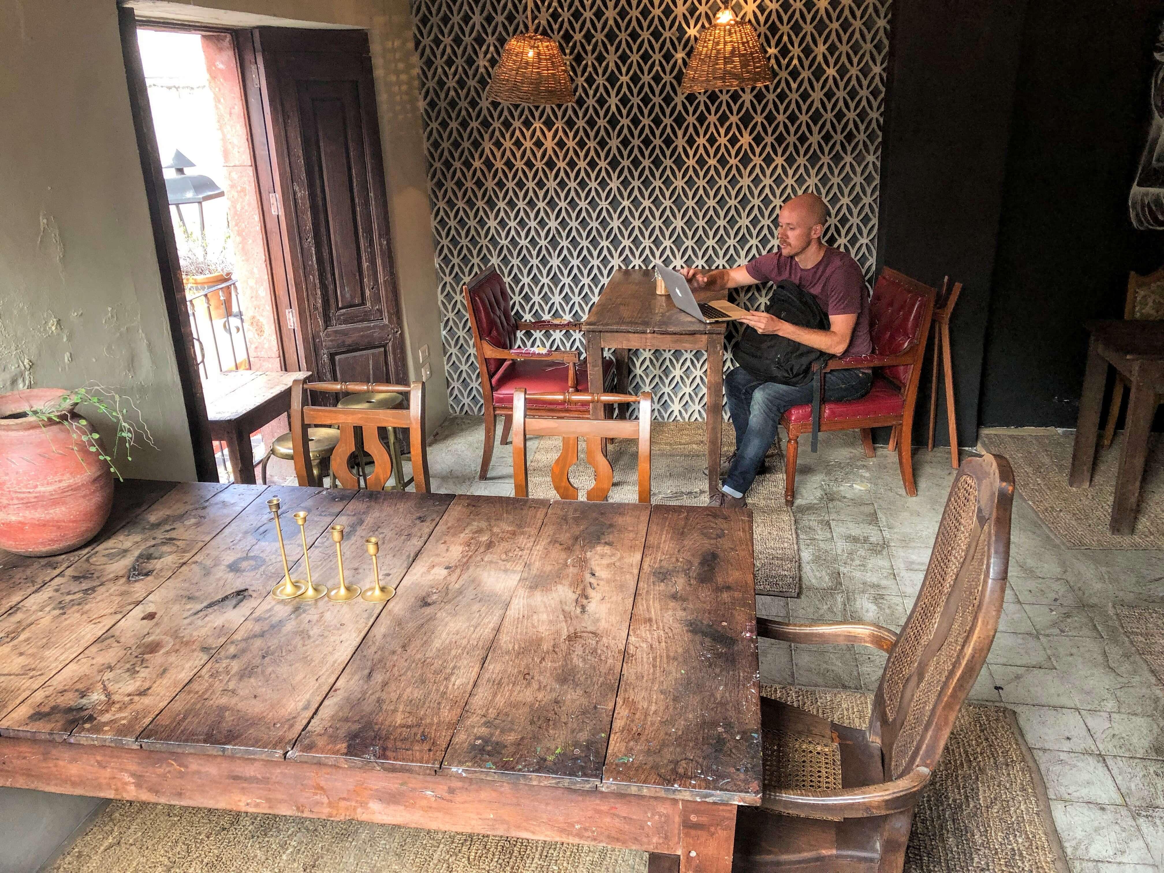 Ki'bock Coffee in San Miguel de Allende