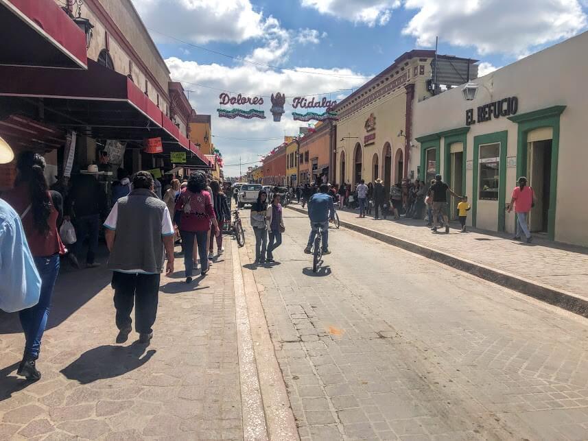 streets of Dolores Hidalgo