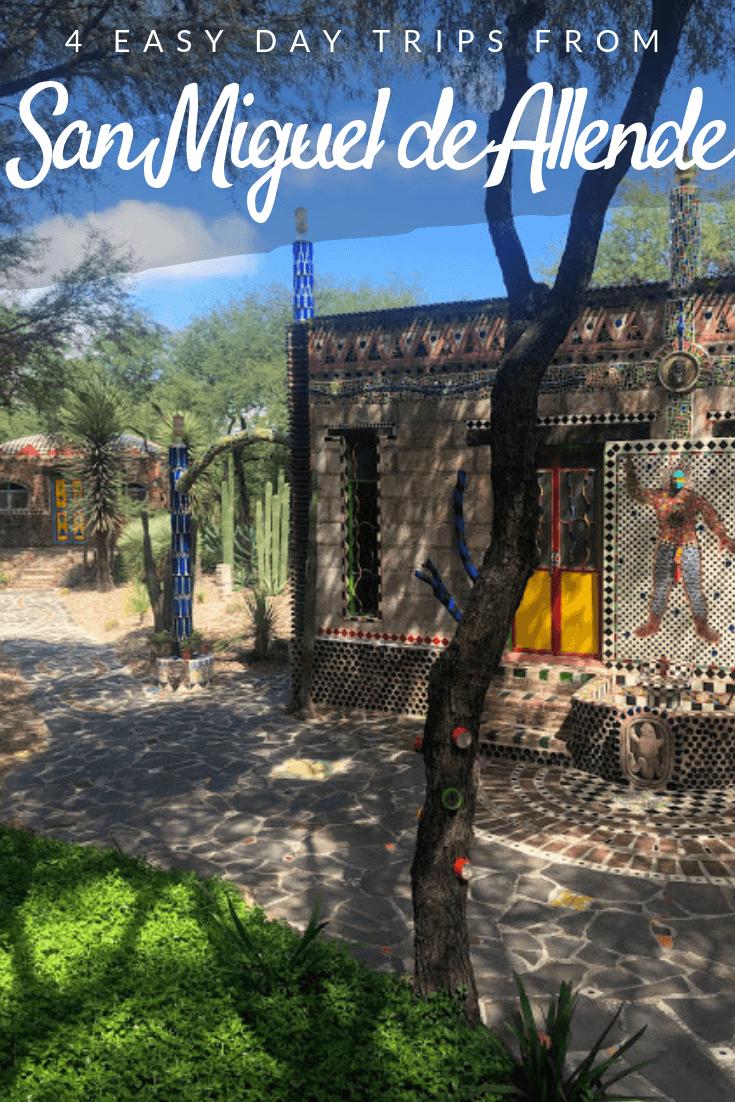 San Miguel de Allende day trips Pinterest pin