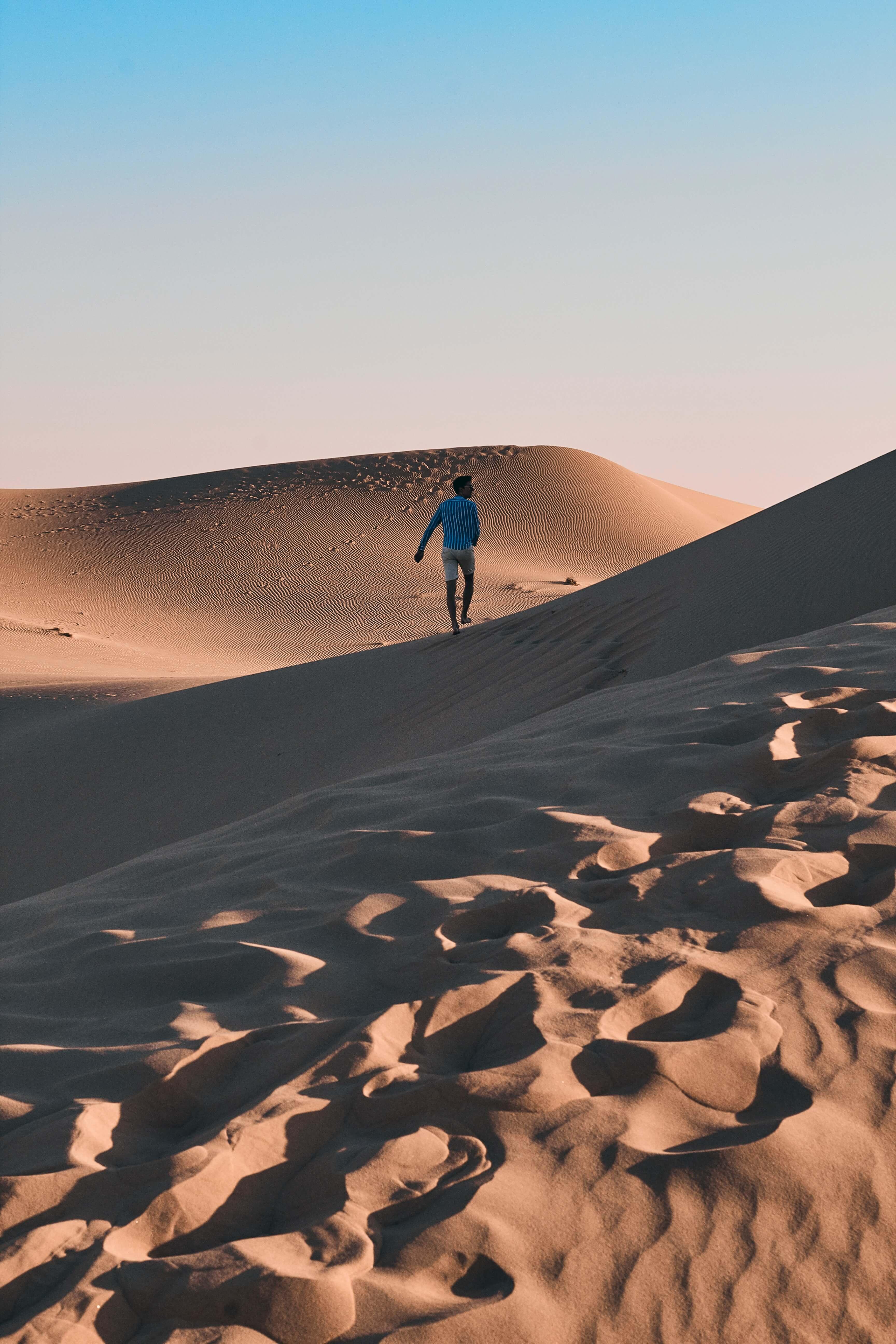 Empty Quarter desert in Abu Dhabi