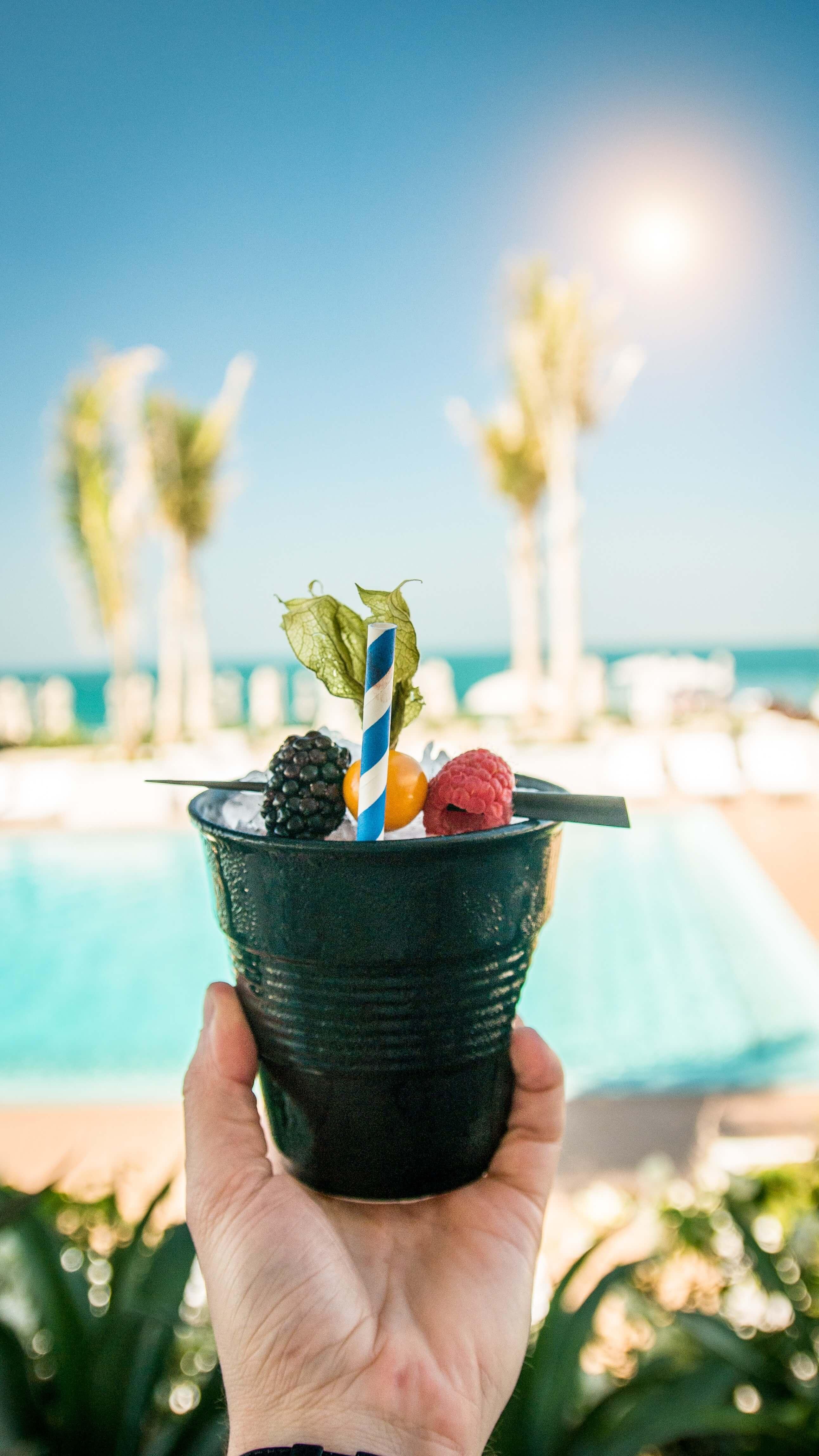 luxury pool in the UAE