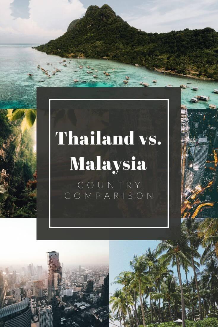 Thailand vs. Malaysia Pinterest pin
