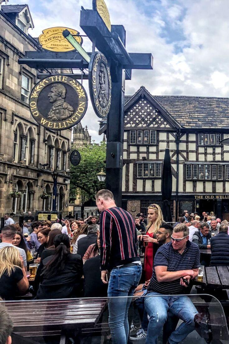 pub in Manchester, UK