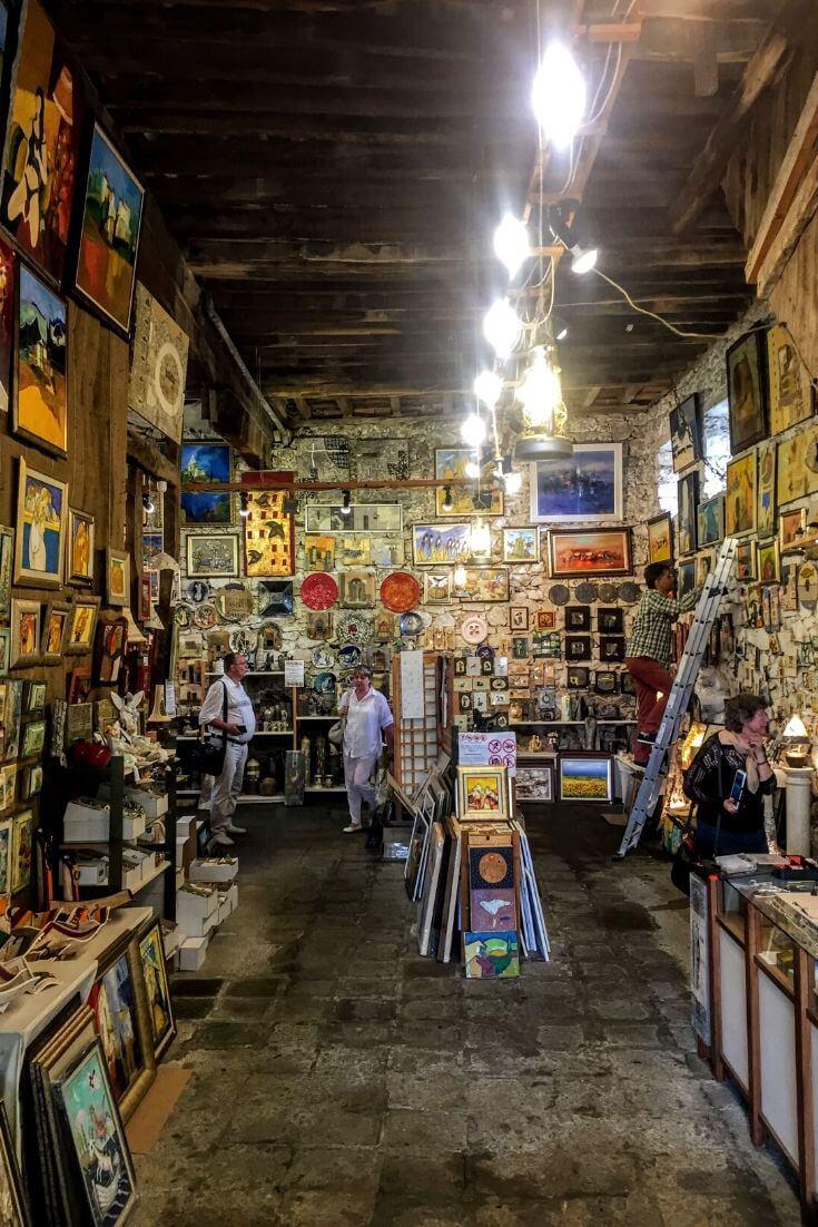 art store in Sozopol
