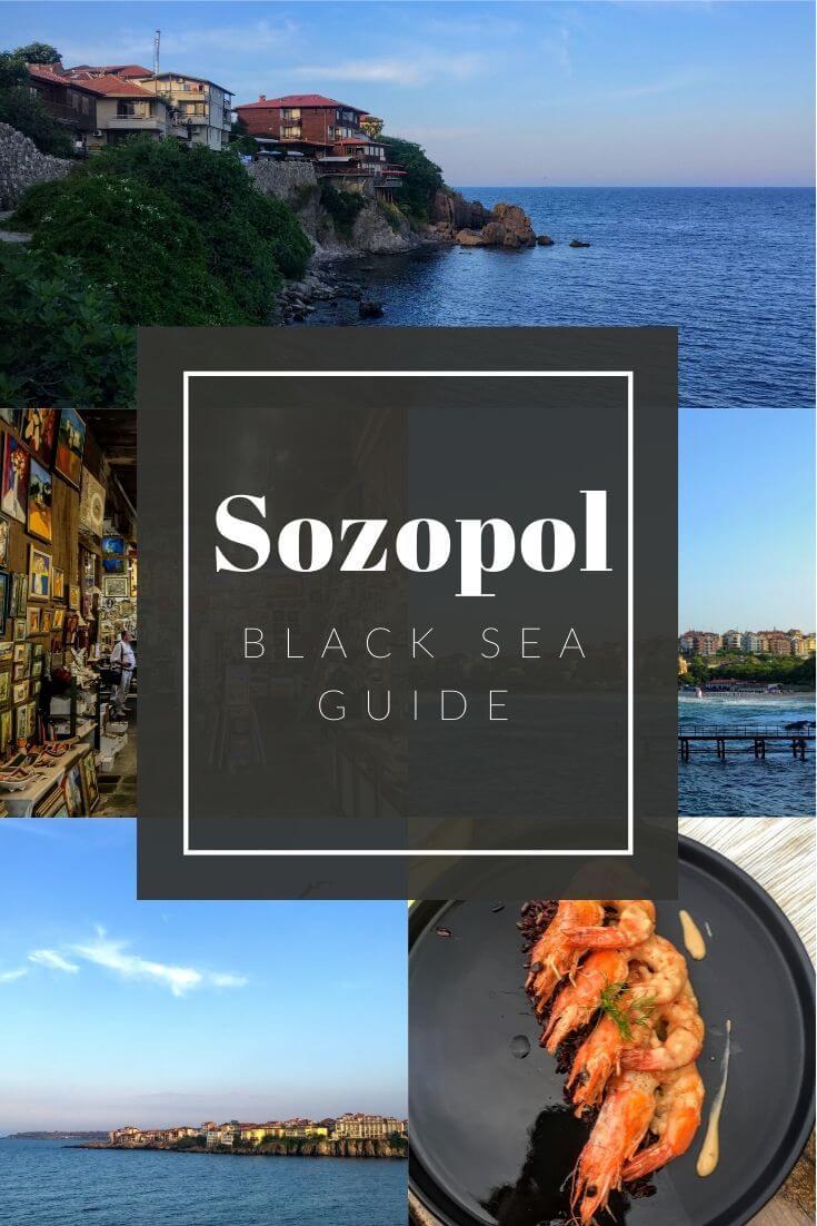 Sozopol Guide Pinterest pin
