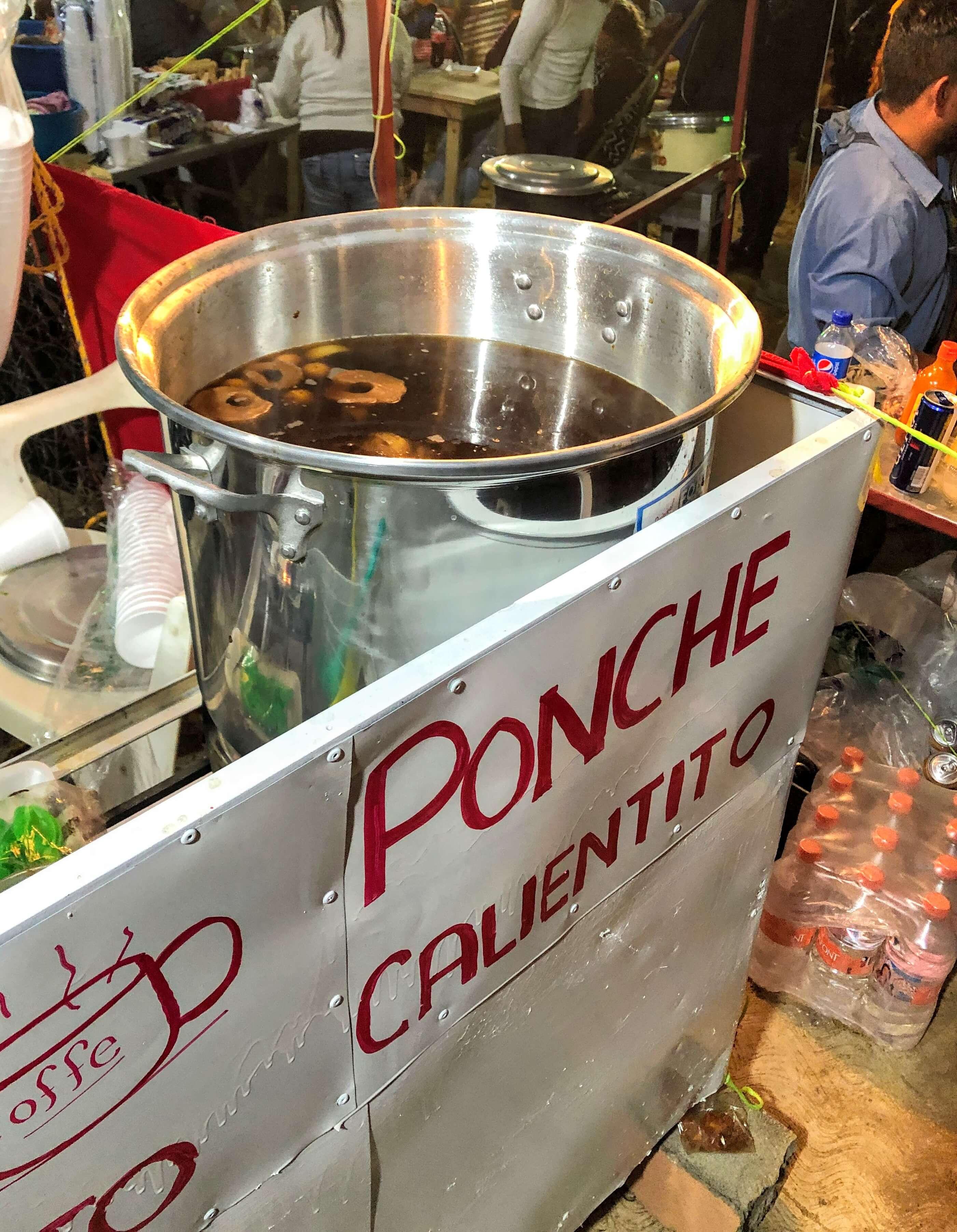 ponche de navidad in Mexico
