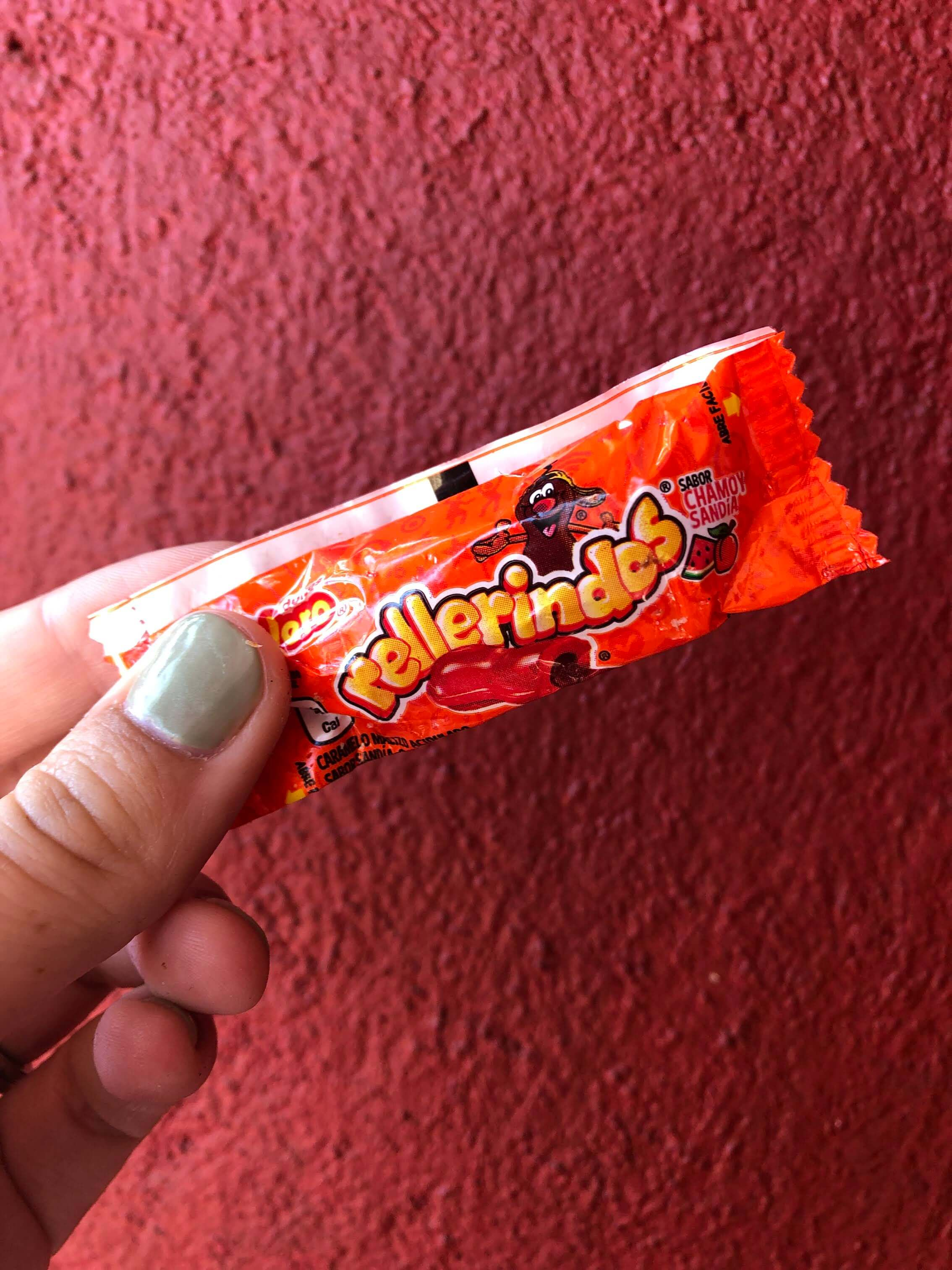 chili candy in Mexico