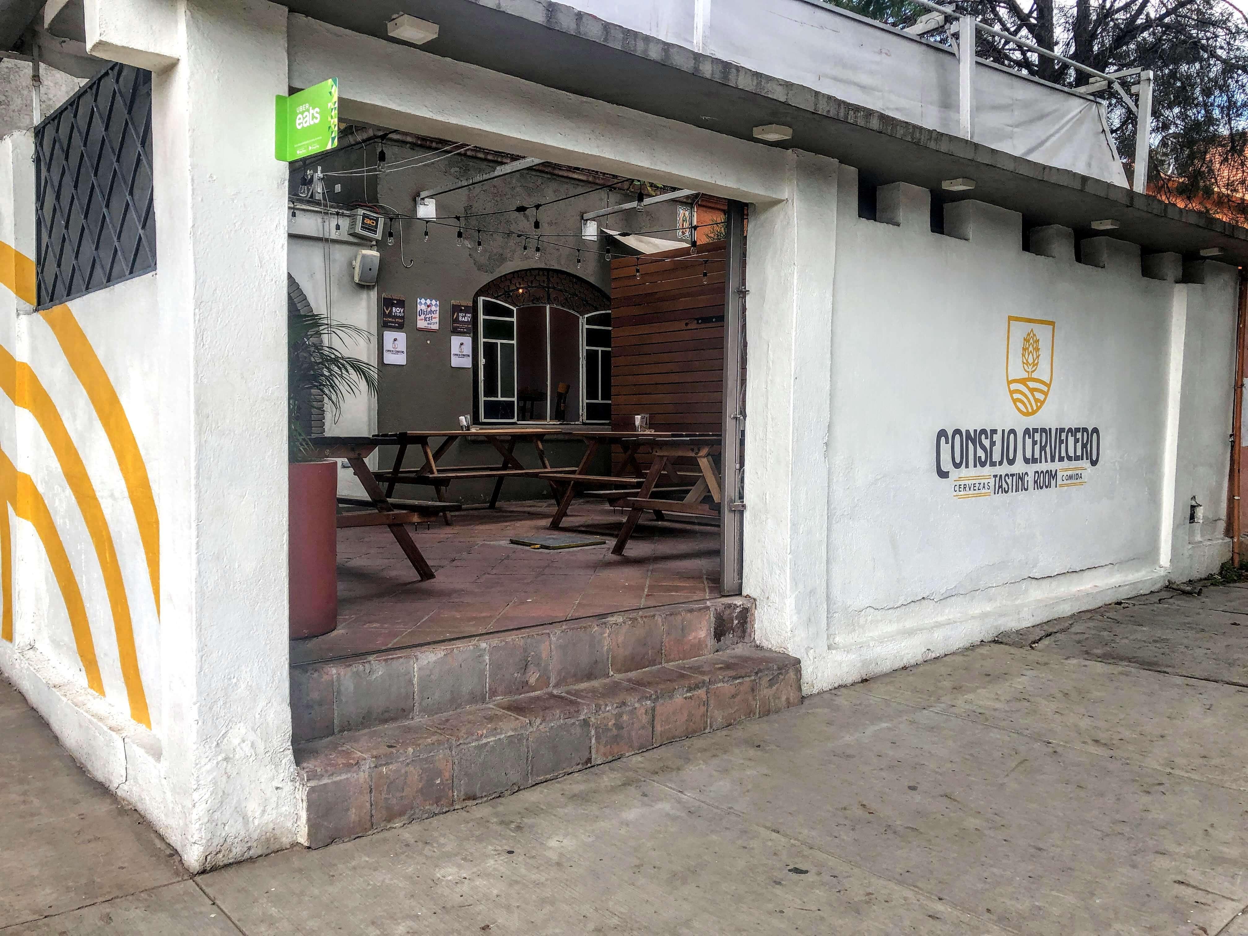 Consejo Cervecero brewery in Oaxaca