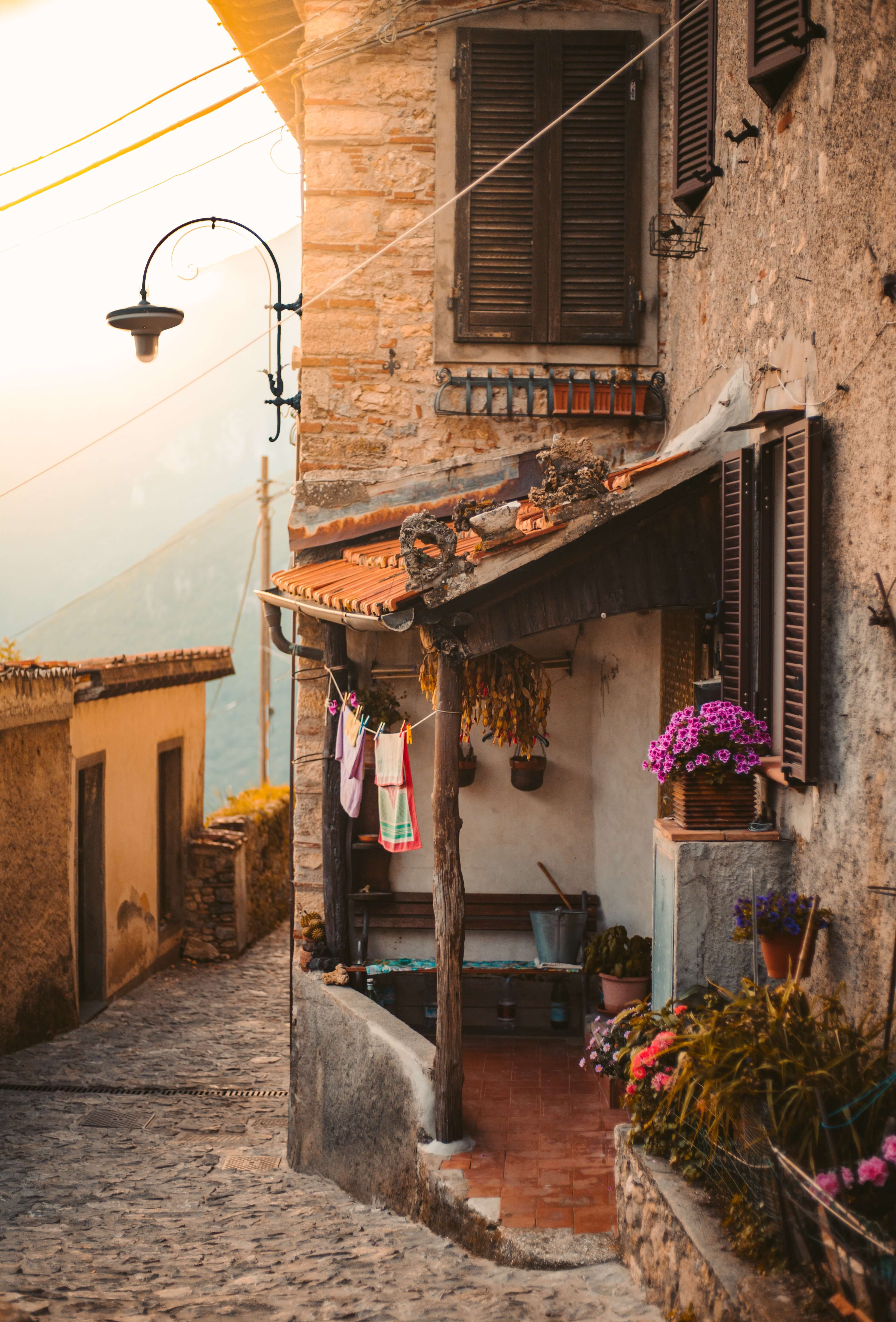 home in Italy