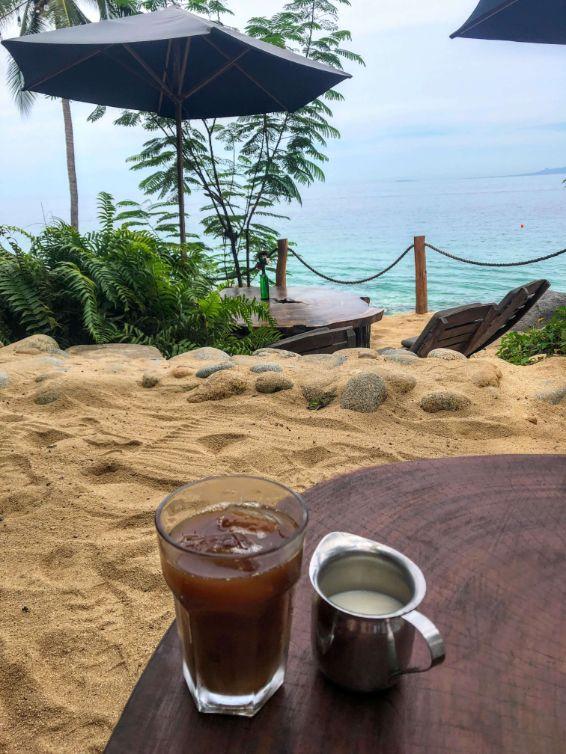 coffee at Casitas Marika resort cafe