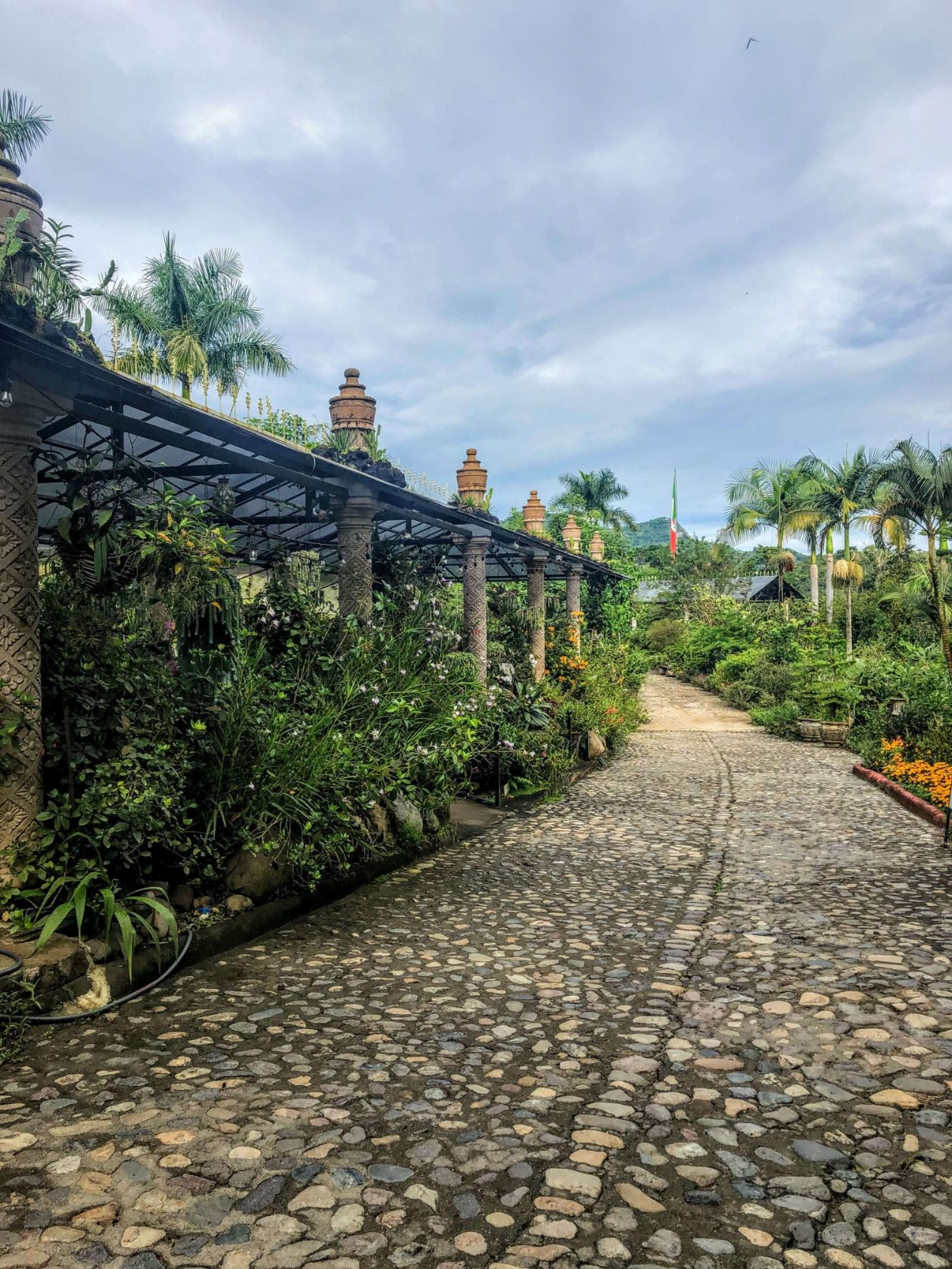 entrance to the Vallarta Botanical Gardens