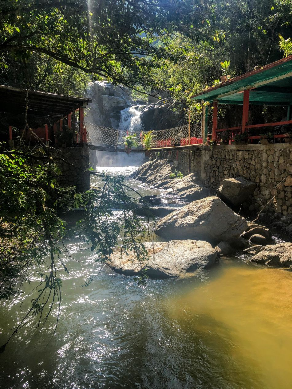 Quimixto waterfall in Puerto Vallarta