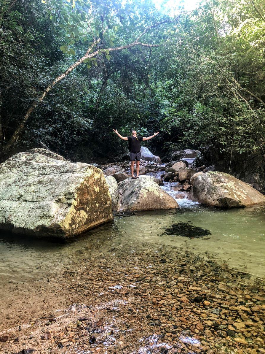 hiking Nogalito river