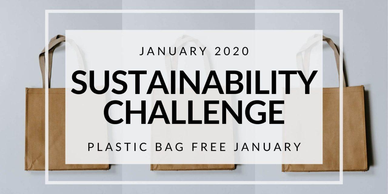 January 2020 Sustainability Challenge: Plastic Bag Free January