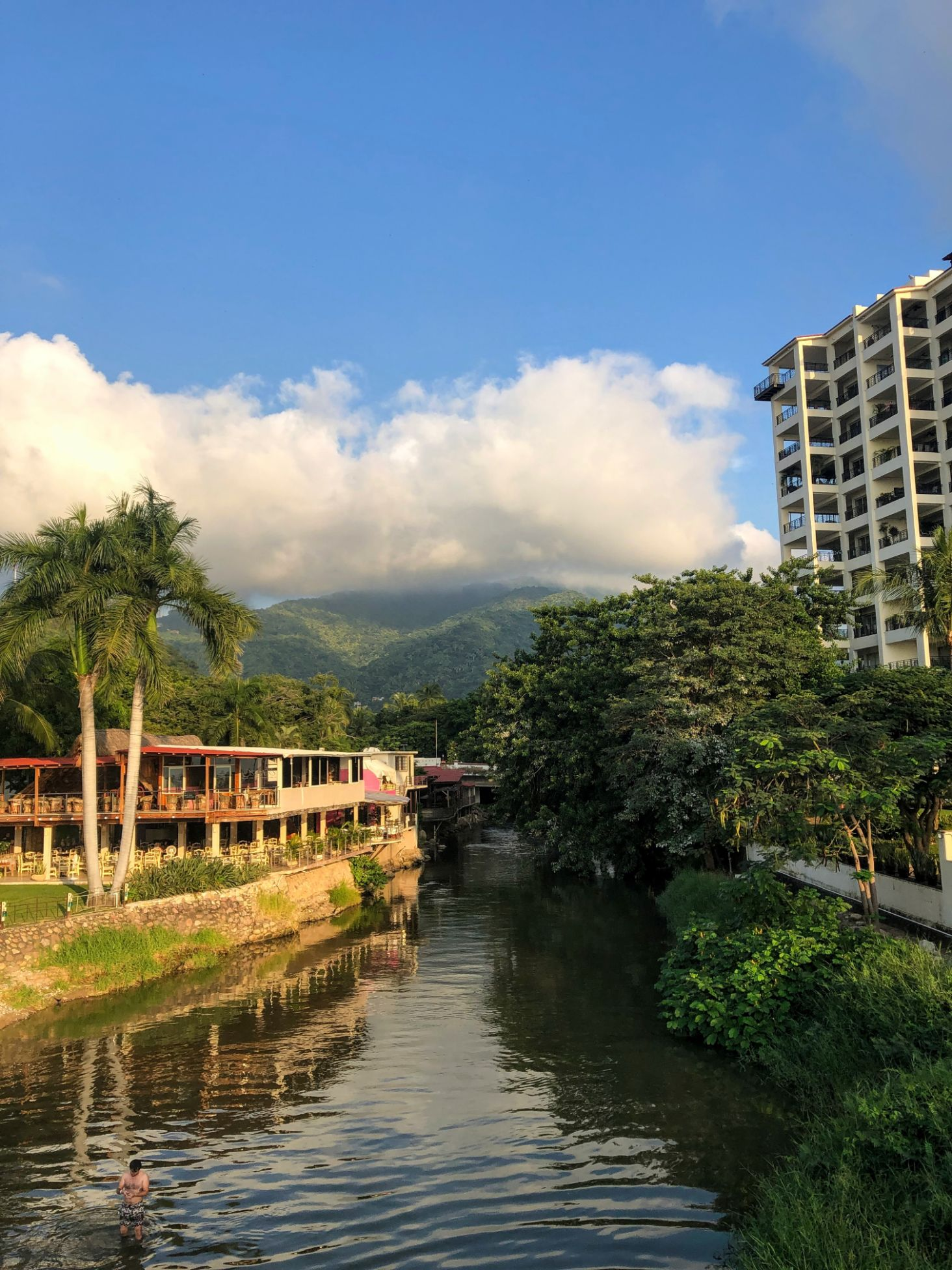 Rio Cuale River in Puerto Vallarta