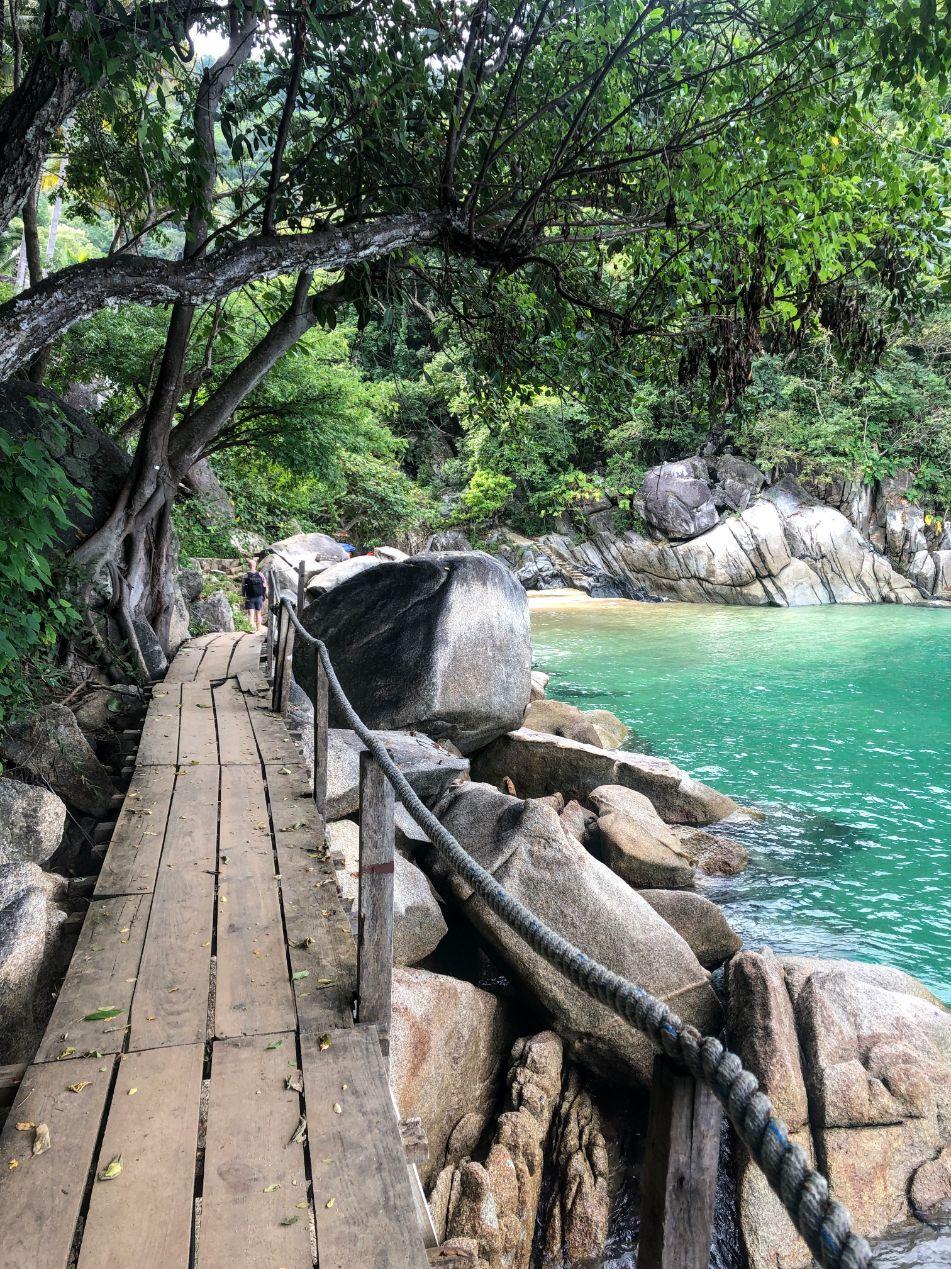 Playa Colomitos hidden cove in Puerto Vallarta