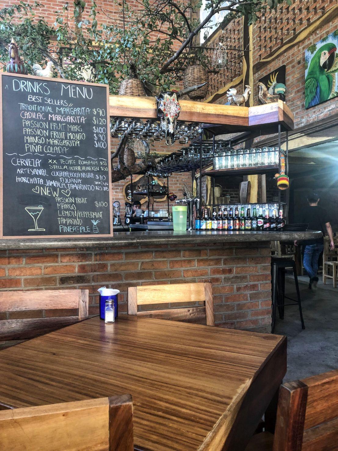 Sonorita Olas Altas moderns bar and restaurant in Puerto Vallarta
