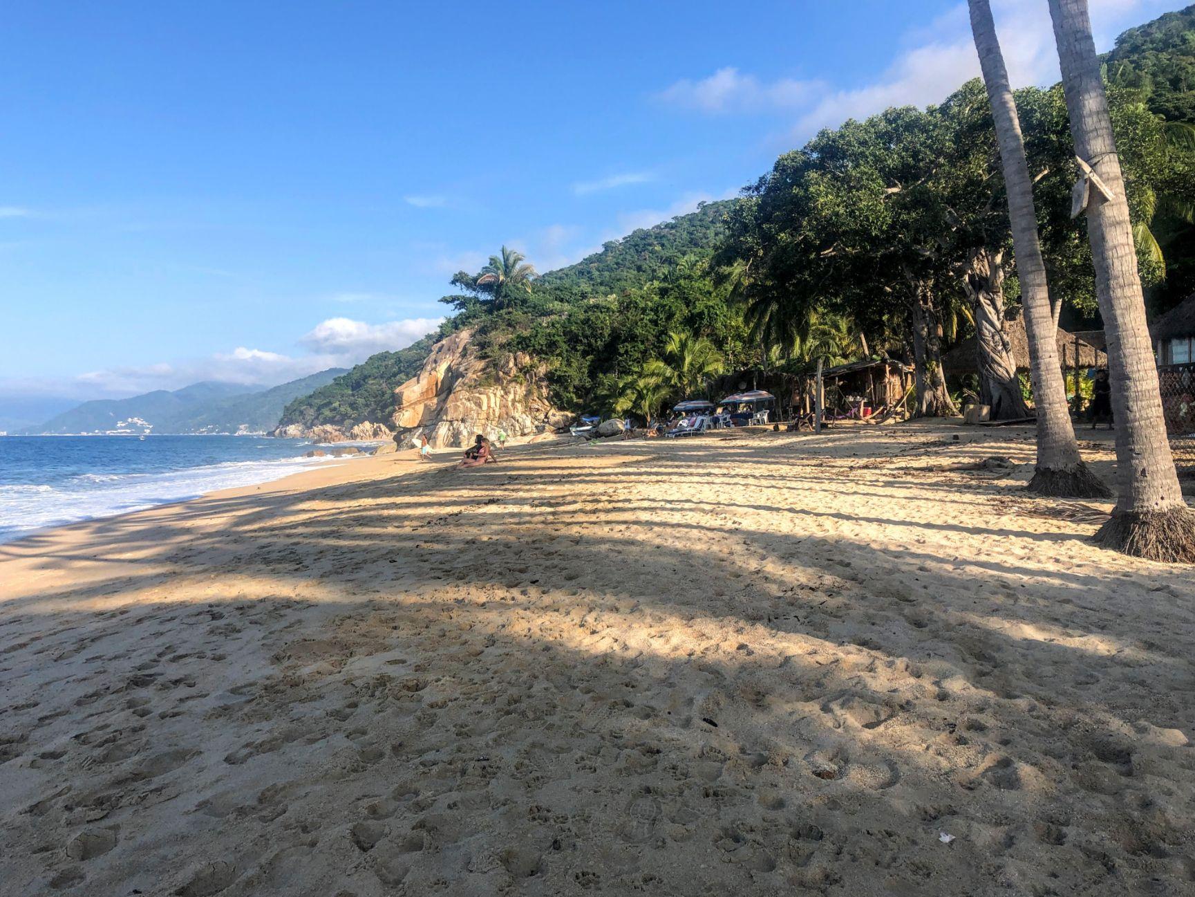 Quimixto Beach in Puerto Vallarta