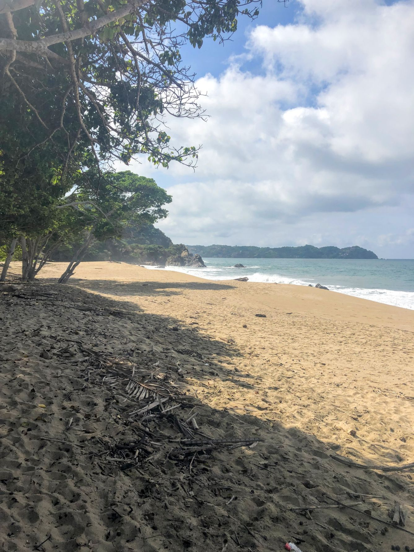 empty beach at Playa Malpaso