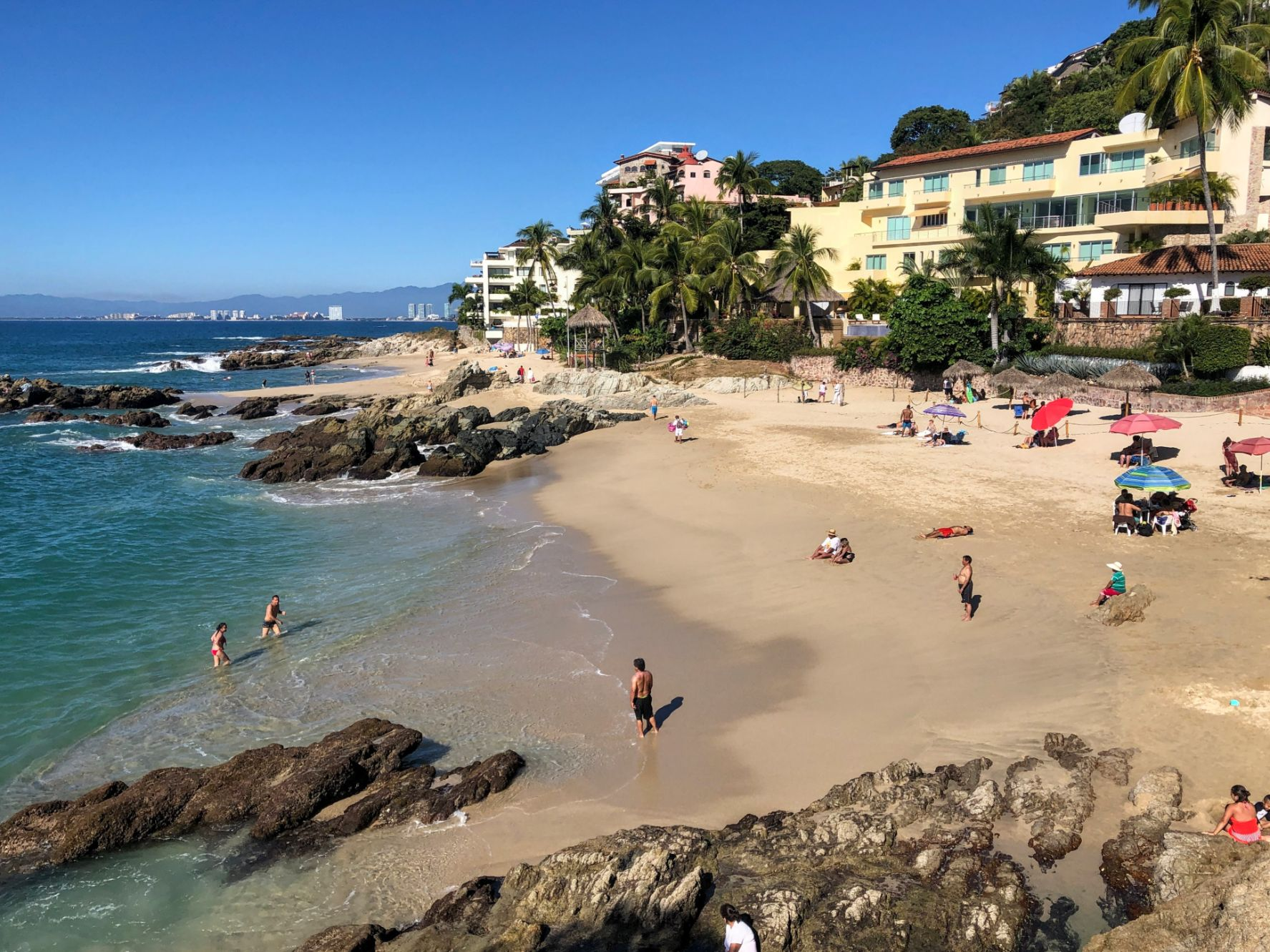 Conchas Chinas Beach in Puerto Vallarta