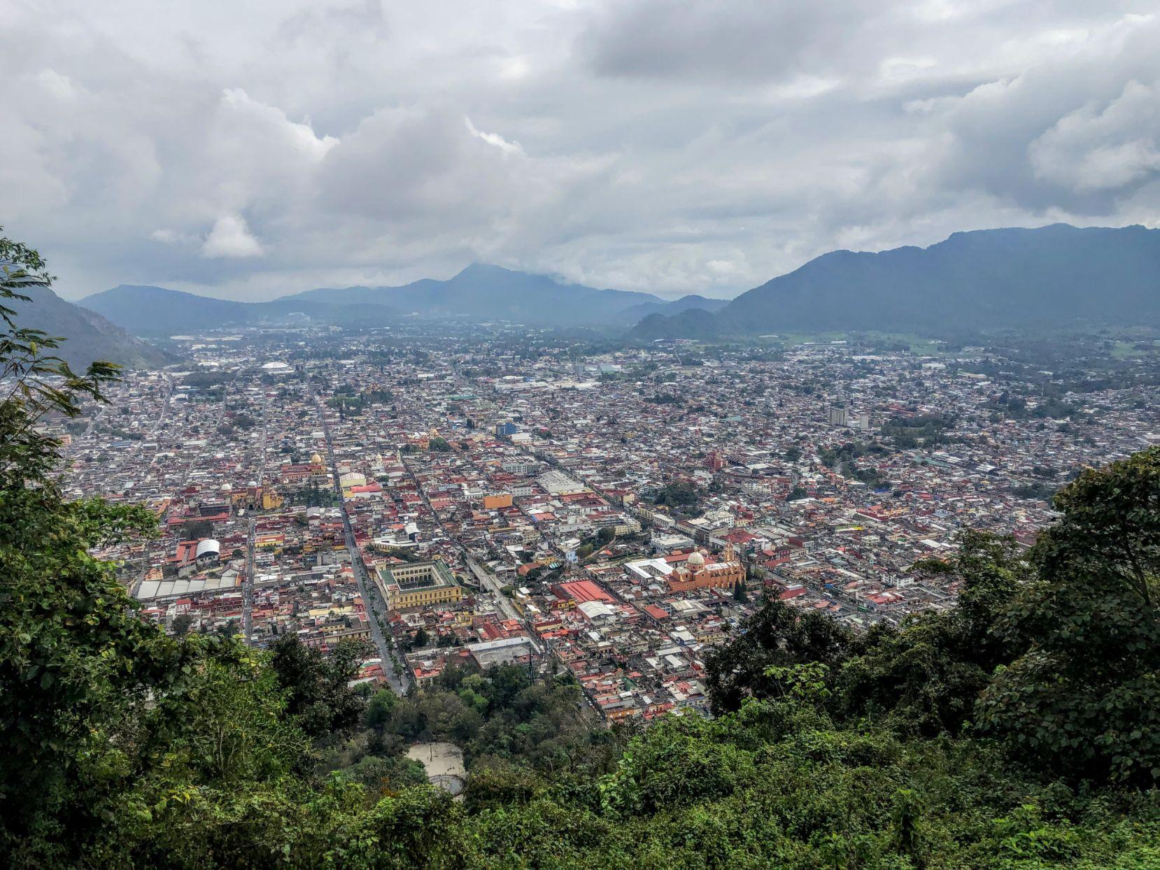 View of Orizaba from Cerro del Borrego Ecoparque