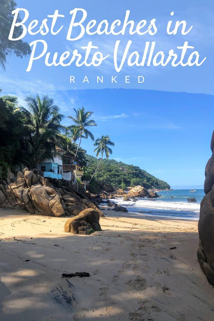 Beast Beaches in Puerto Vallarta Pinterest pin