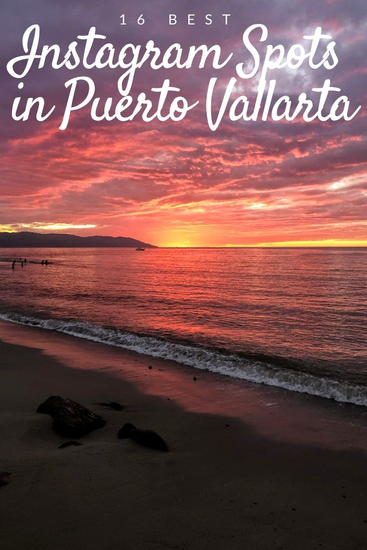 Best Instagram Spots in Puerto Vallarta PInterest pin