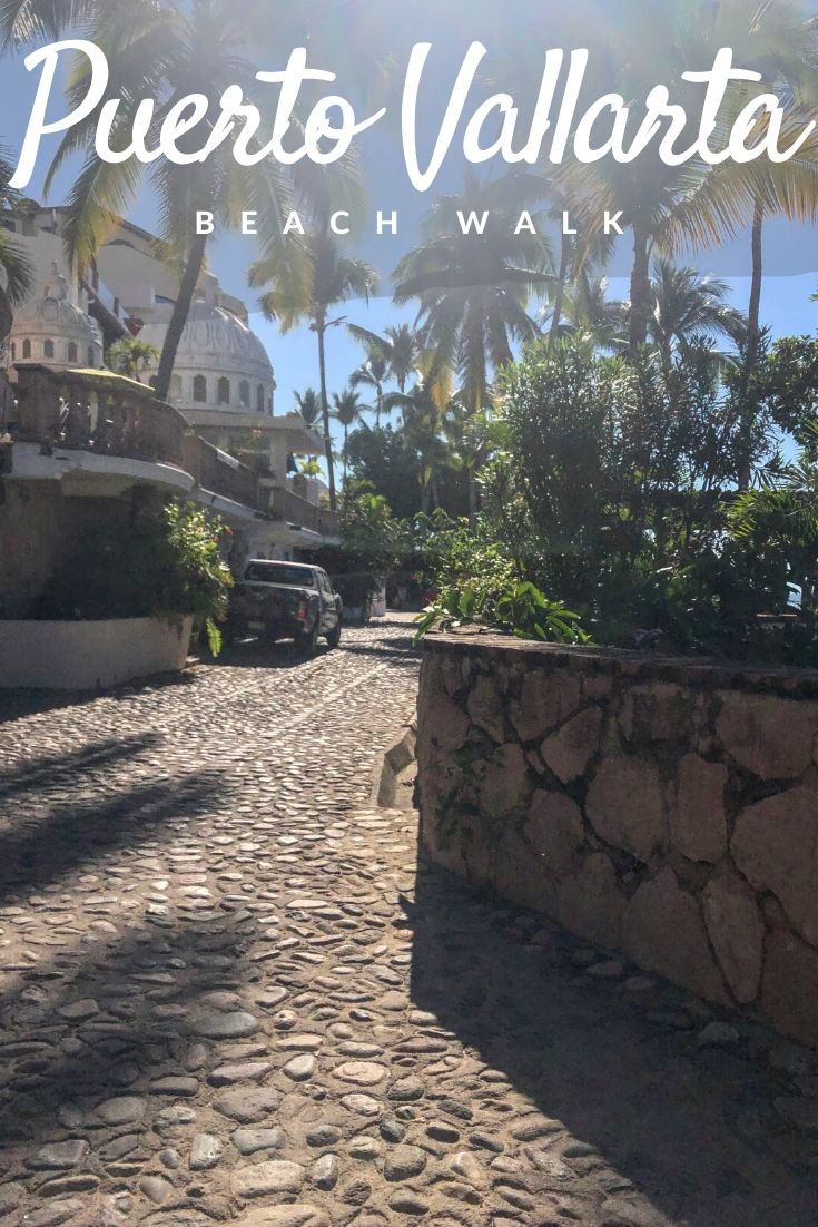 Muertos to Lindo Mar beach walk Pinterest pin