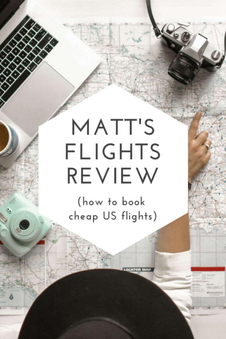Matt's Flights Review Pinterest pin