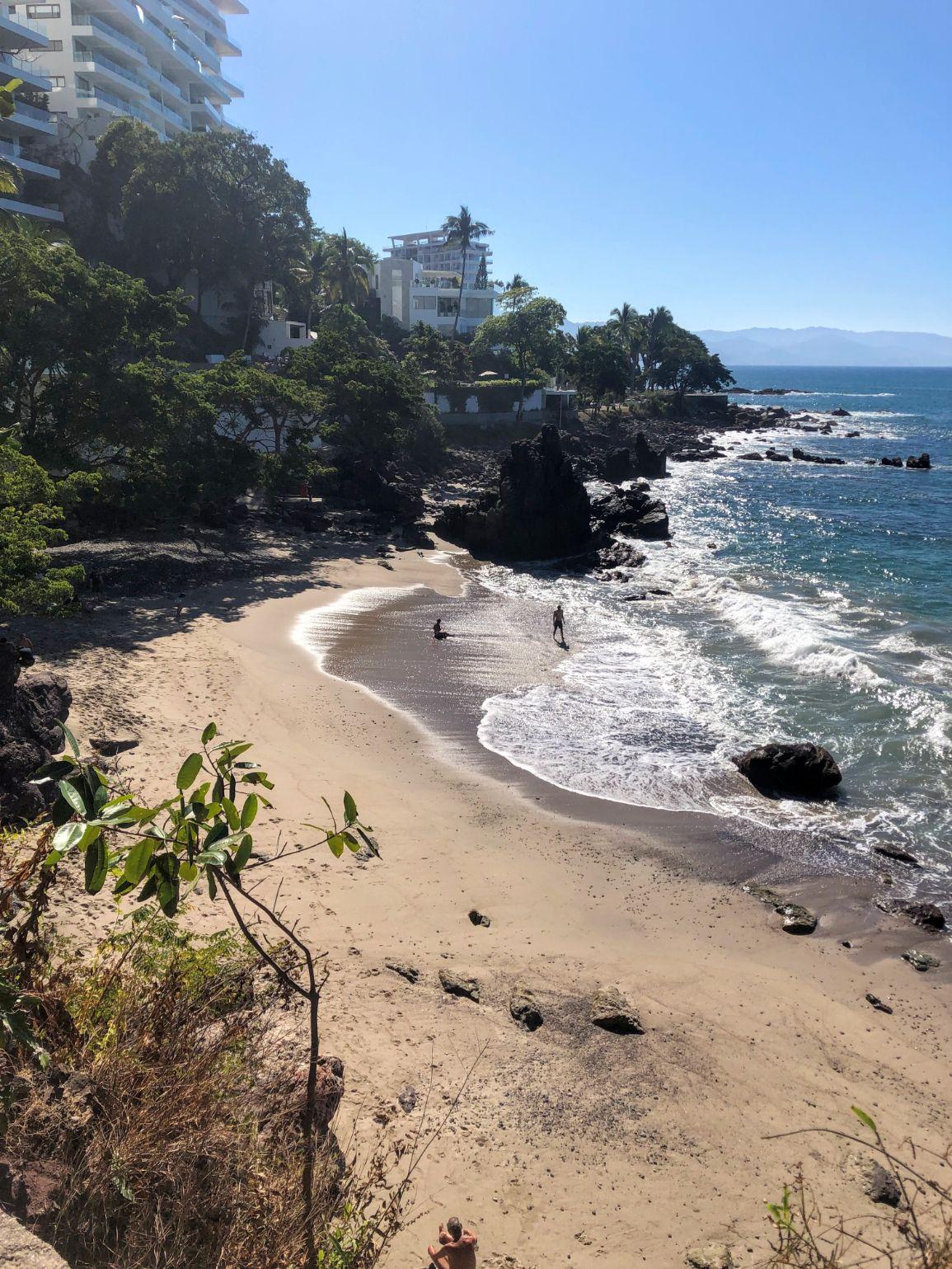 Playa Amapas beach in Puerto Vallarta