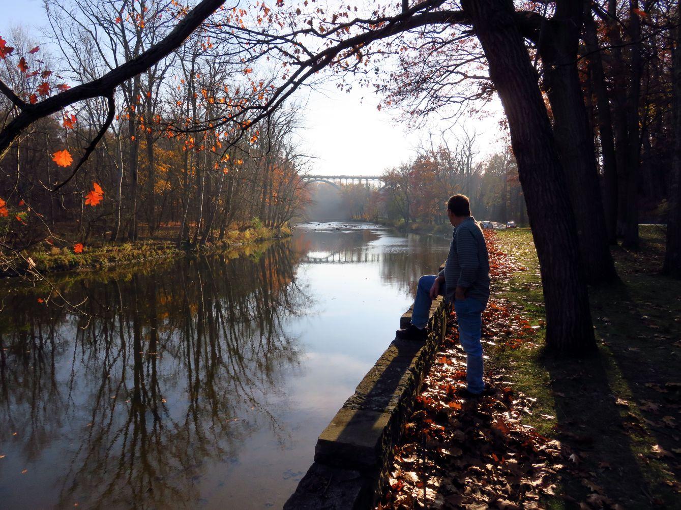 Rocky River Park in Ohio