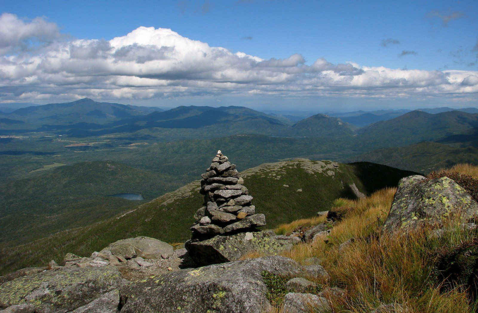 mountain view in the High Peaks Wilderness Area of NY