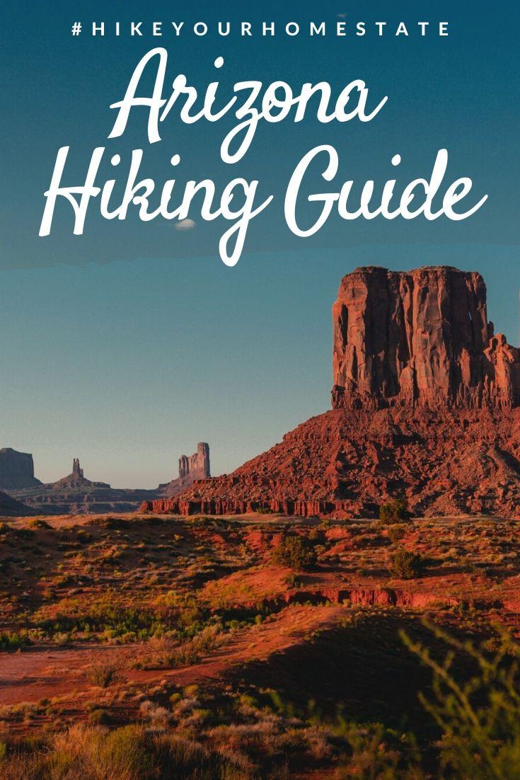 Arizona Hiking Guide Pinterest pin