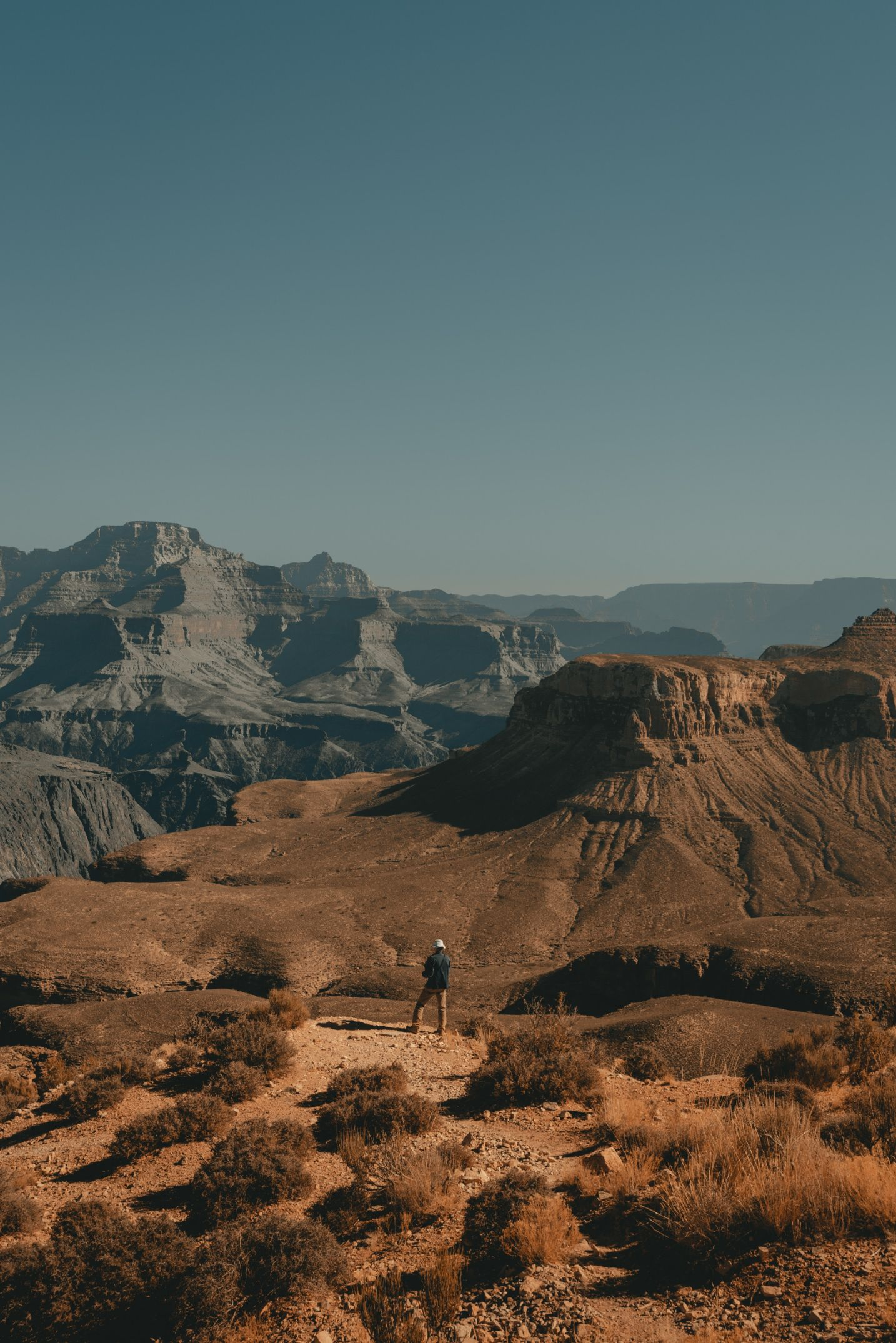 dry red rocks and canyons in Arizona