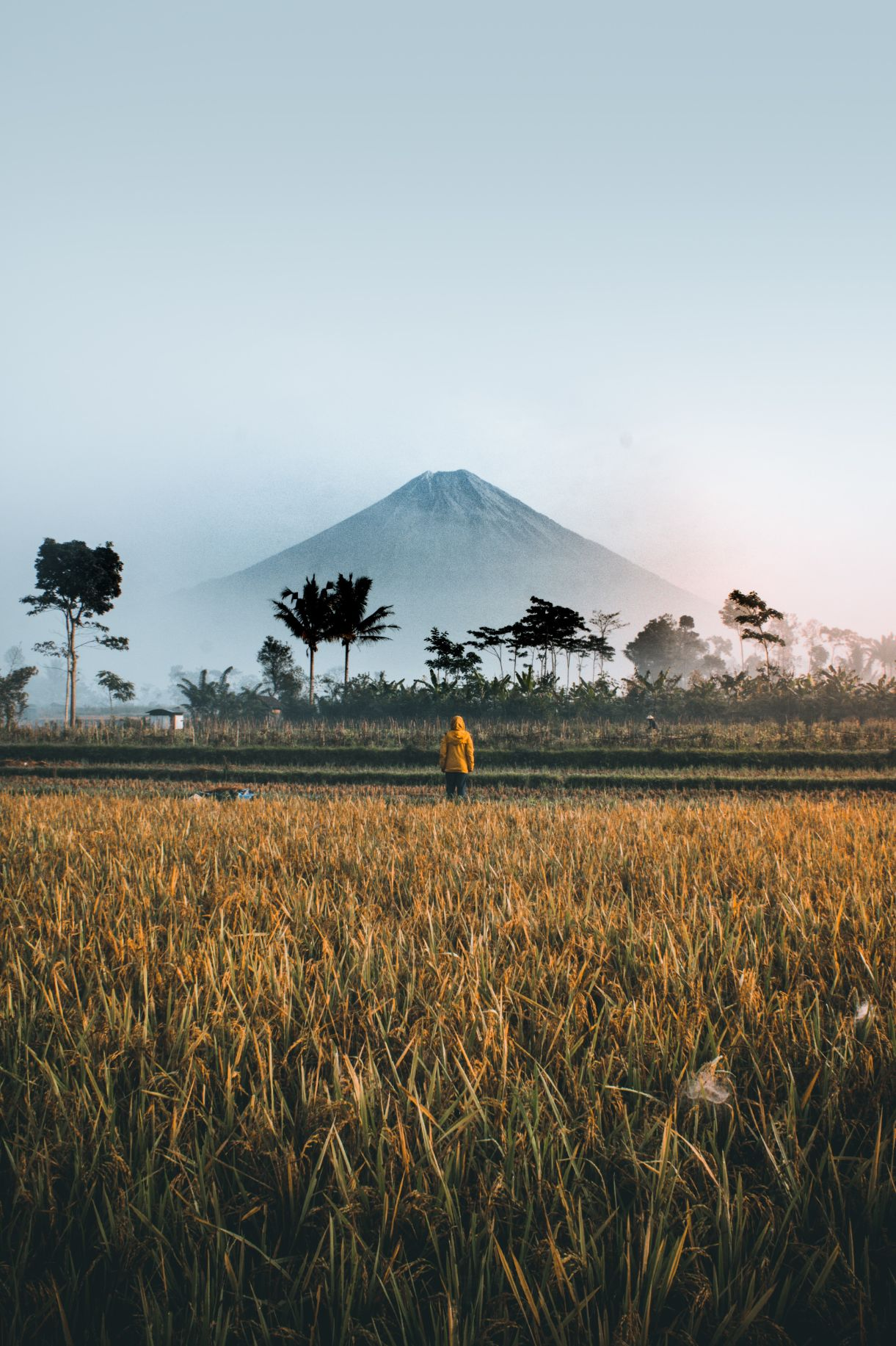 Oro Oro Ombo volcano in Indonesia