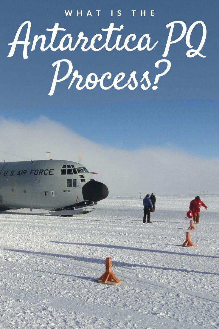 Antarctica PQ process Pinterest pin