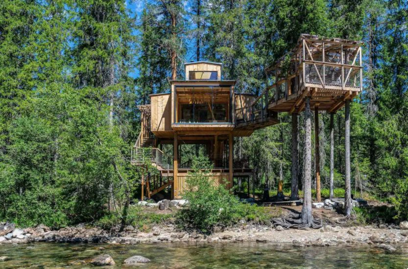 River Eye Treehouse in Norway