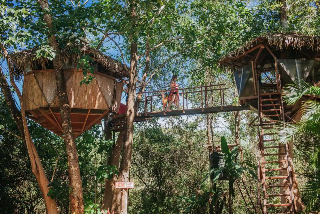 The Sacred Geome Treehouse in Costa Rica