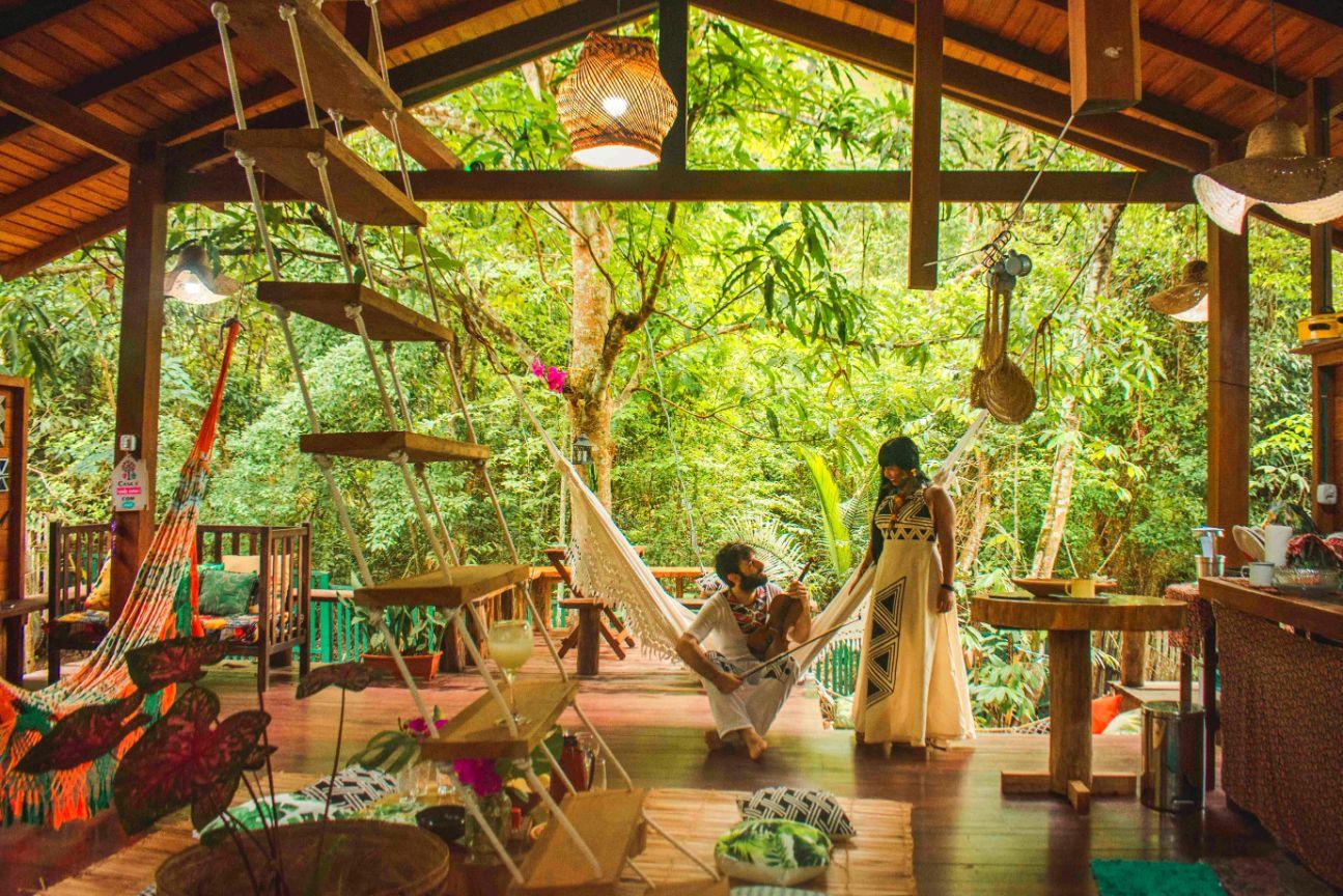 Casa da Arvore treehouse in Brazil