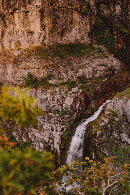 Steward Falls in Provo, utah