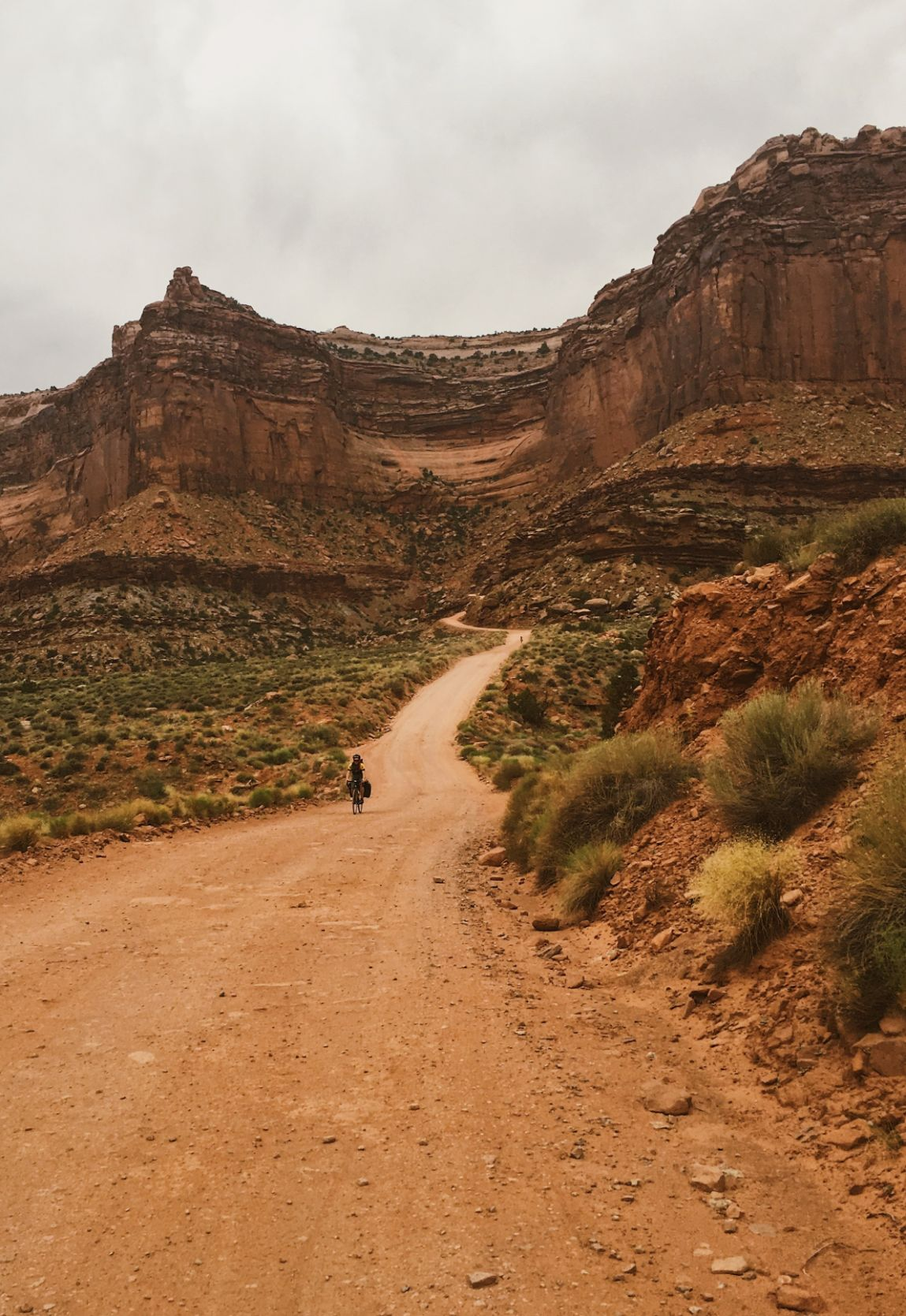 dirt road in Canyonlands National Park