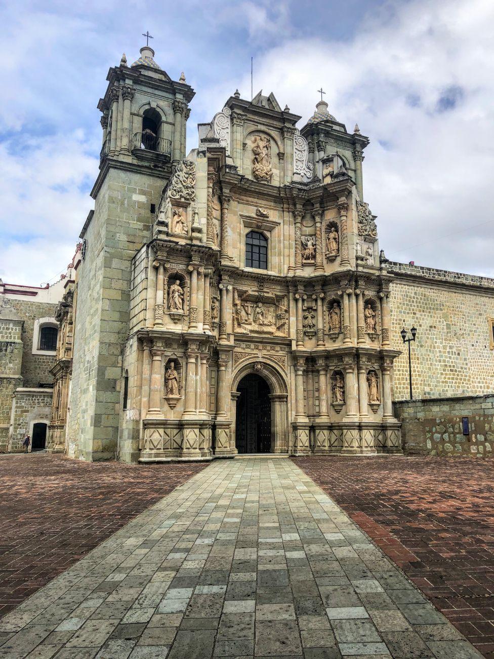 Basilica de Nuestra Senora de la Soledad in Oaxaca