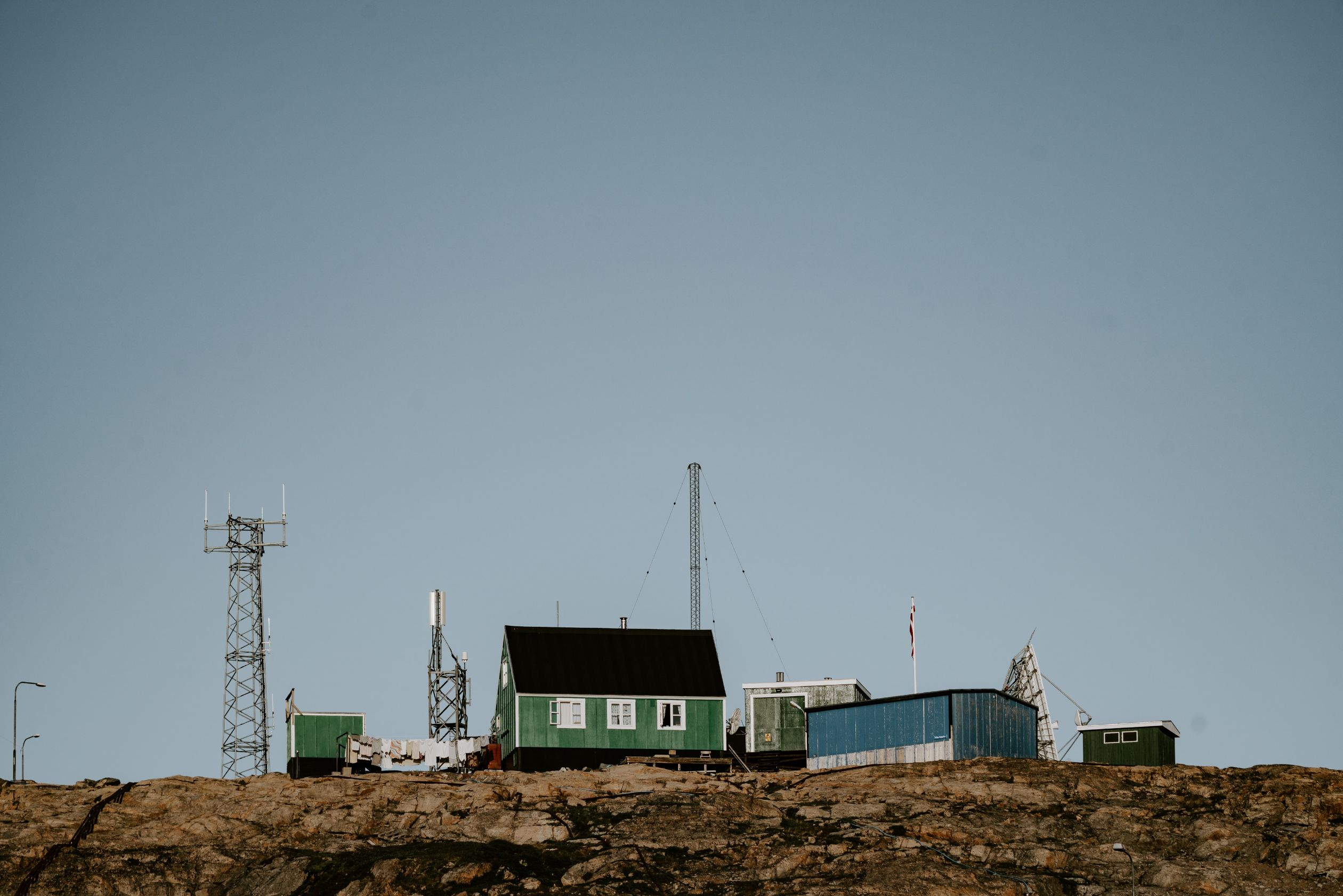 remote settlement in Greenland