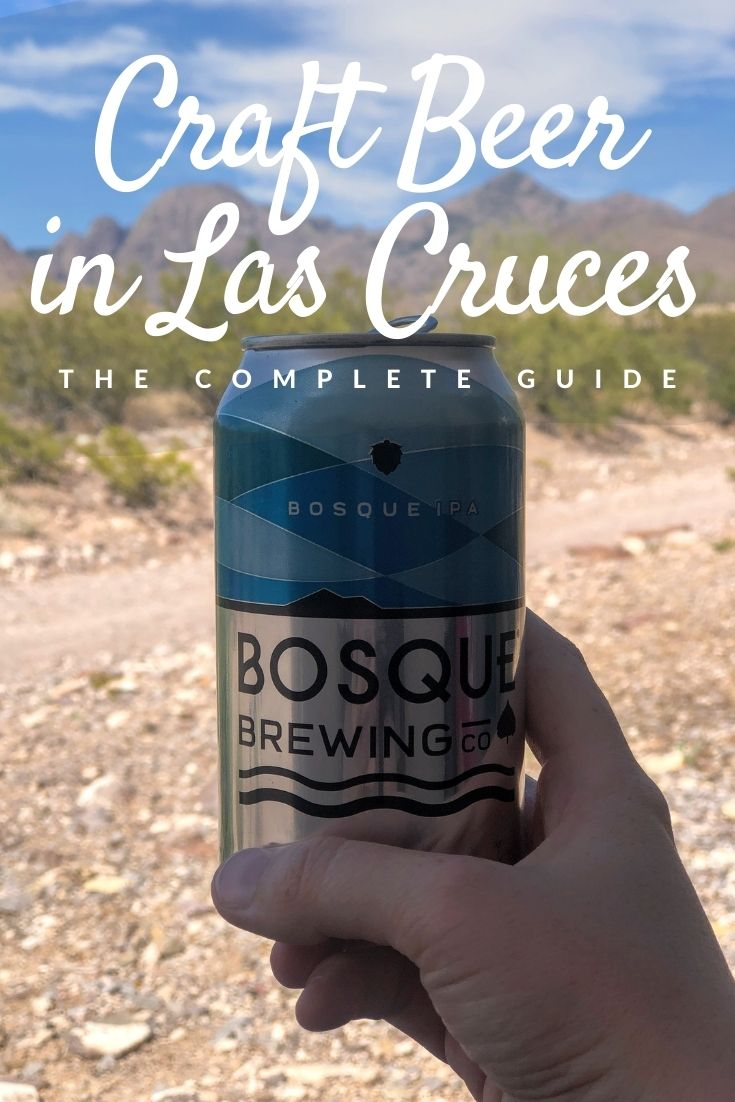 Craft beer in Las Cruces Pinterest pin